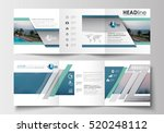 set of business templates for... | Shutterstock .eps vector #520248112