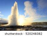 Strokkur Geysir Eruption...