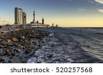 a view of jeddah corniche at... | Shutterstock . vector #520257568