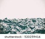 100 dollars on the ground...   Shutterstock . vector #520259416