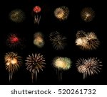 Colorful Assorted Fireworks...