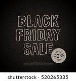 black friday sale banner | Shutterstock .eps vector #520265335