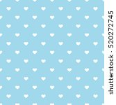 heart seamless background.   Shutterstock .eps vector #520272745