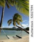 mauritius beach | Shutterstock . vector #52027594