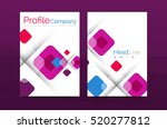 geometric abstract background ... | Shutterstock . vector #520277812