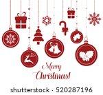 Set Of Hanging Christmas...