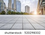 empty floor with modern... | Shutterstock . vector #520298332