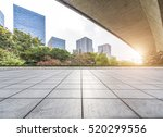 empty floor with modern... | Shutterstock . vector #520299556