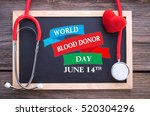 world blood donor day  june... | Shutterstock . vector #520304296