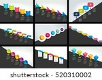 mega set of infographics... | Shutterstock .eps vector #520310002