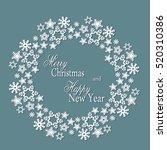 Snowflake Mandala. Holiday...