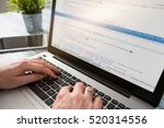 coding code program programming ... | Shutterstock . vector #520314556