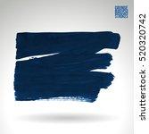 brush stroke and texture.... | Shutterstock .eps vector #520320742