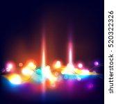 lights festive decorations....   Shutterstock .eps vector #520322326