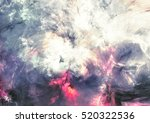 abstract sky with shiny color... | Shutterstock . vector #520322536