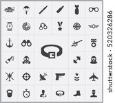 army icons universal set for... | Shutterstock .eps vector #520326286