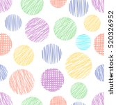 seamless vector  geometrical... | Shutterstock .eps vector #520326952