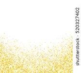 gold glitter texture. golden... | Shutterstock .eps vector #520327402