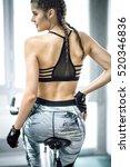 young adult caucasian... | Shutterstock . vector #520346836