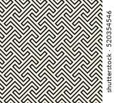 geometric seamless pattern.... | Shutterstock .eps vector #520354546