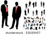 vector illustration of 50... | Shutterstock .eps vector #52035457