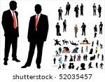 vector illustration of 50... | Shutterstock .eps vector #52035457