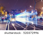 old tram at train central... | Shutterstock . vector #520372996