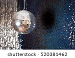 Mirror Disco Ball Hanging From...