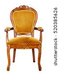 louis lords furniture chairs | Shutterstock . vector #520385626