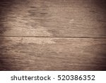 old wooden plank have space use ... | Shutterstock . vector #520386352