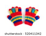 Multicolor Children's Gloves...