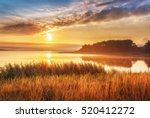 Beautiful Sunrise Landscape At...