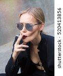 fine art portrait of a... | Shutterstock . vector #520413856