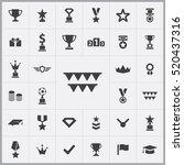 award icons universal set for...   Shutterstock .eps vector #520437316