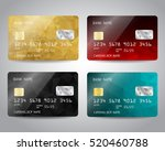 Realistic Detailed Credit Cards ...
