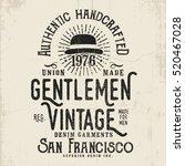 vintage vector design with... | Shutterstock .eps vector #520467028