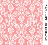 floral pattern. wallpaper... | Shutterstock .eps vector #520474792