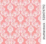 floral pattern. wallpaper... | Shutterstock .eps vector #520474792