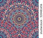 vector tribal vintage ethnic... | Shutterstock .eps vector #520481656