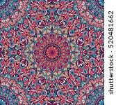 vector tribal vintage ethnic... | Shutterstock .eps vector #520481662