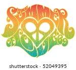 summer of love | Shutterstock .eps vector #52049395