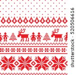 new year's christmas pattern... | Shutterstock .eps vector #520506616