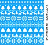 new year's christmas pattern... | Shutterstock .eps vector #520506646
