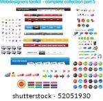 webdesigners toolkit   complete ...   Shutterstock .eps vector #52051930