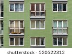 modern architecture. social... | Shutterstock . vector #520522312