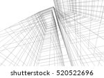 abstract architecture | Shutterstock .eps vector #520522696