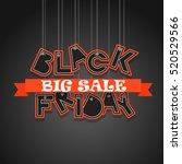 black friday sale logo design... | Shutterstock .eps vector #520529566