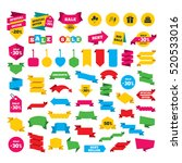 web stickers  banners and... | Shutterstock .eps vector #520533016