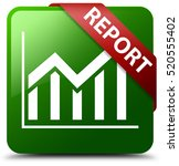 report  statistics icon  green... | Shutterstock . vector #520555402