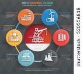industry info graphic design... | Shutterstock .eps vector #520556818